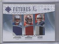 Josh Freeman, Rhett Bomar, Mark Sanchez, Nate Davis /25