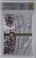 Lance Briggs, Ray Lewis /25 [BGS 8.5]