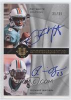 Pat White, Ronnie Brown /35