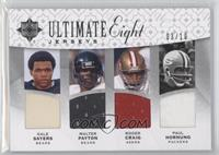 Emmitt Smith, Barry Sanders, Roger Craig, Gale Sayers, Walter Payton, Paul Horn…