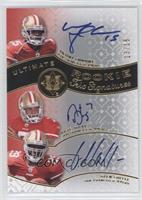 Michael Crabtree, Nate Davis, Glen Coffee /15