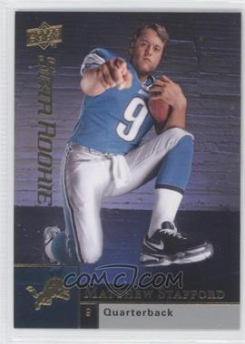 2009 Upper Deck #305 - Matthew Stafford