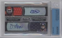 Dexter McCluster, Demaryius Thomas /25 [BGS/JSA Certified Auto]