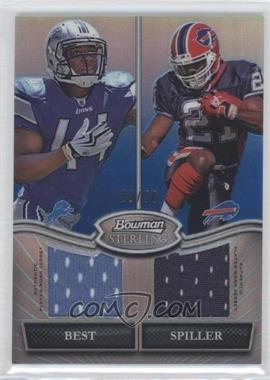 2010 Bowman Sterling Box Topper Dual Relic Blue Refractor #BSDR-BS - [Missing] /50