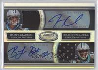 Jimmy Clausen, Brandon LaFell /25
