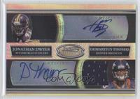 Jonathan Dwyer, Demaryius Thomas /25
