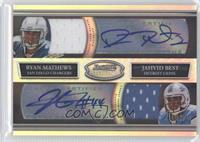 Ryan Mathews, Jahvid Best /25