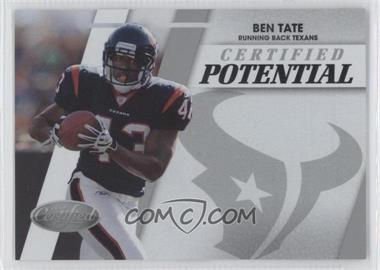 2010 Certified Certified Potential #35 - Ben Tate /999