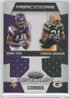 Charles Woodson, Sidney Rice /100