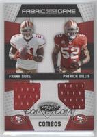 Frank Gore, Patrick Willis /100