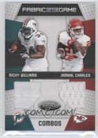Ricky Williams, Jamaal Charles /100