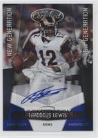 Thaddeus Lewis /50