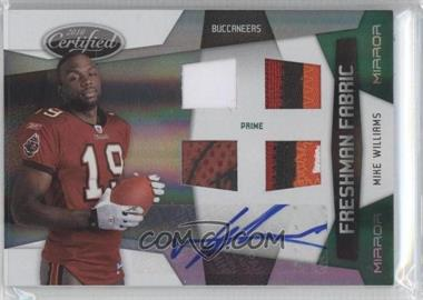 2010 Certified Mirror Emerald #296 - Mike Williams /5