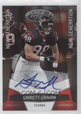 2010 Certified Mirror Red Signatures [Autographed] #213 - Garrett Graham /250