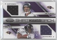Joe Flacco, Ray Rice /100