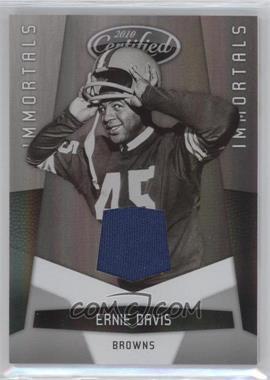 2010 Certified #169 - Ernie Davis /150