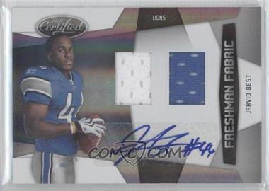 2010 Certified #287 - Jahvid Best /499