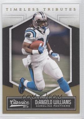 2010 Classics - [Base] - Timeless Tributes Gold #13 - DeAngelo Williams /50