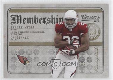 2010 Classics [???] #18 - Chris Wells /100