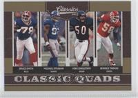 Bruce Smith, Derrick Thomas, Michael Strahan, Mike Singletary /100