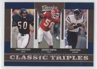 Derrick Thomas, Junior Seau, Mike Singletary
