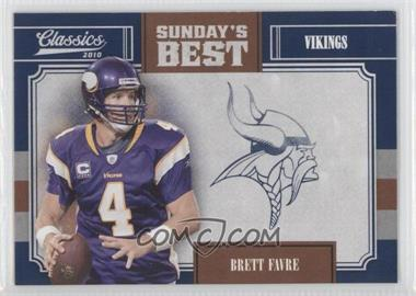 2010 Classics Sunday's Best #15 - Brett Favre