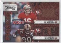 Joe Montana, Jerry Rice /25