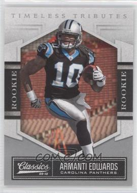 2010 Classics Timeless Tributes Silver #108 - Armanti Edwards /100