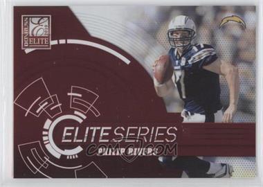 2010 Donruss Elite - Elite Series - Red #19 - Philip Rivers /999