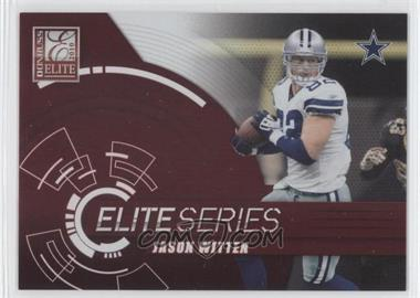2010 Donruss Elite Elite Series Red #12 - Jason Witten /999