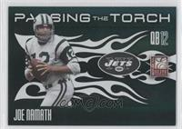 Joe Namath, Mark Sanchez /99