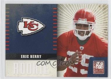 2010 Donruss Elite Team Logo #13 - Eric Berry /999