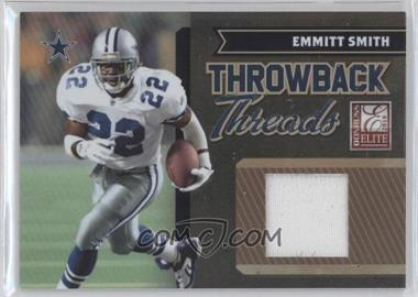 2010 Donruss Elite Throwback Threads #18 - Emmitt Smith, Felix Jones /150