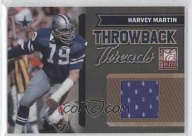 2010 Donruss Elite Throwback Threads #8 - Harvey Martin /200
