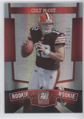 2010 Donruss Elite #190 - Colt McCoy /999