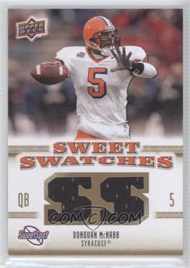 2010 NCAA Sweet Spot Sweet Swatches #SSW-23 - Donovan McNabb - Courtesy of COMC.com
