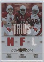Larry Fitzgerald, Chris Wells, Matt Leinart
