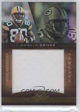2010 Panini Absolute Memorabilia Absolute Patches Spectrum Jumbo Prime #14 - Donald Driver /25