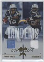 Antonio Gates, Darren Sproles /100