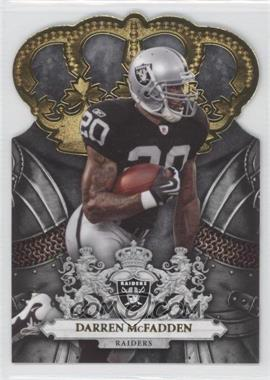 2010 Panini Crown Royale - [Base] - Gold #71 - Darren McFadden /25
