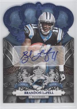 2010 Panini Crown Royale - [Base] - Platinum Signatures [Autographed] #223 - Brandon LaFell /1