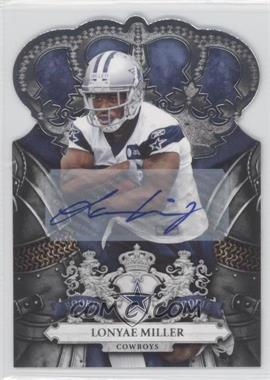 2010 Panini Crown Royale - [Base] - Signatures [Autographed] #166 - Lonyae Miller /99