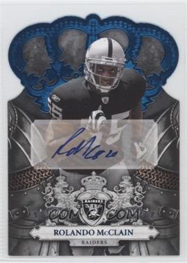 2010 Panini Crown Royale Blue Signatures [Autographed] #213 - Rolando McClain /50