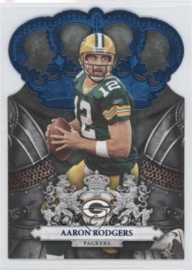 2010 Panini Crown Royale Blue #36 - Aaron Rodgers /100