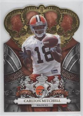2010 Panini Crown Royale Gold #115 - Carlton Mitchell /25