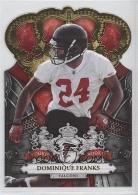 2010 Panini Crown Royale Gold #131 - Dominique Franks /25