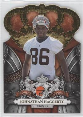 2010 Panini Crown Royale Gold #136 - Johnathan Haggerty /25