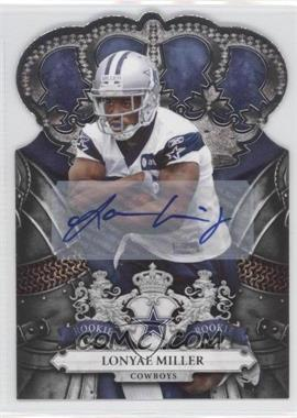 2010 Panini Crown Royale Signatures [Autographed] #166 - Lonyae Miller /99
