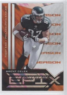 2010 Panini Epix Epix Season Orange #92 - Brent Celek