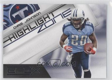 2010 Panini Epix Highlight Zone #2 - Chris Johnson